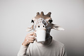 personification of giraffe