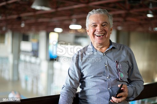 istock Portrait of Mature Businessman 954782798