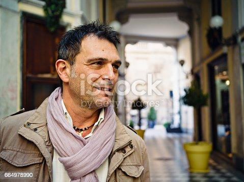 464621546 istock photo Portrait of mature man 664978990