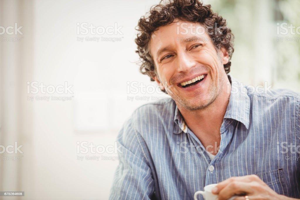 Porträt von Lächelnder Mann reiferen Alters - Lizenzfrei 40-44 Jahre Stock-Foto