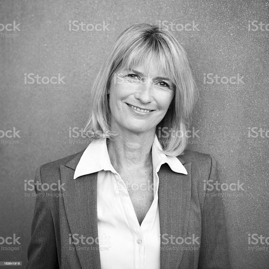 Portrait of Mature Professional Businesswoman stock photo