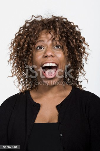 istock Portrait of mid adult african american woman 537676131