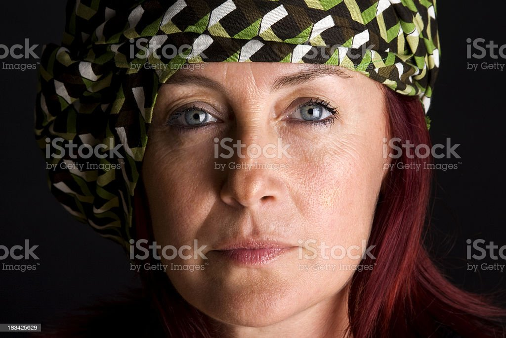 Portrait of mid-adult woman royalty-free stock photo