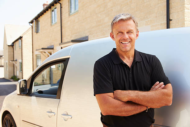 Portrait of middle aged tradesman standing by his van picture id488690684?b=1&k=6&m=488690684&s=612x612&w=0&h=432cml1bee9jso0frqumcmqkpal07j0 ofwiobliw4q=