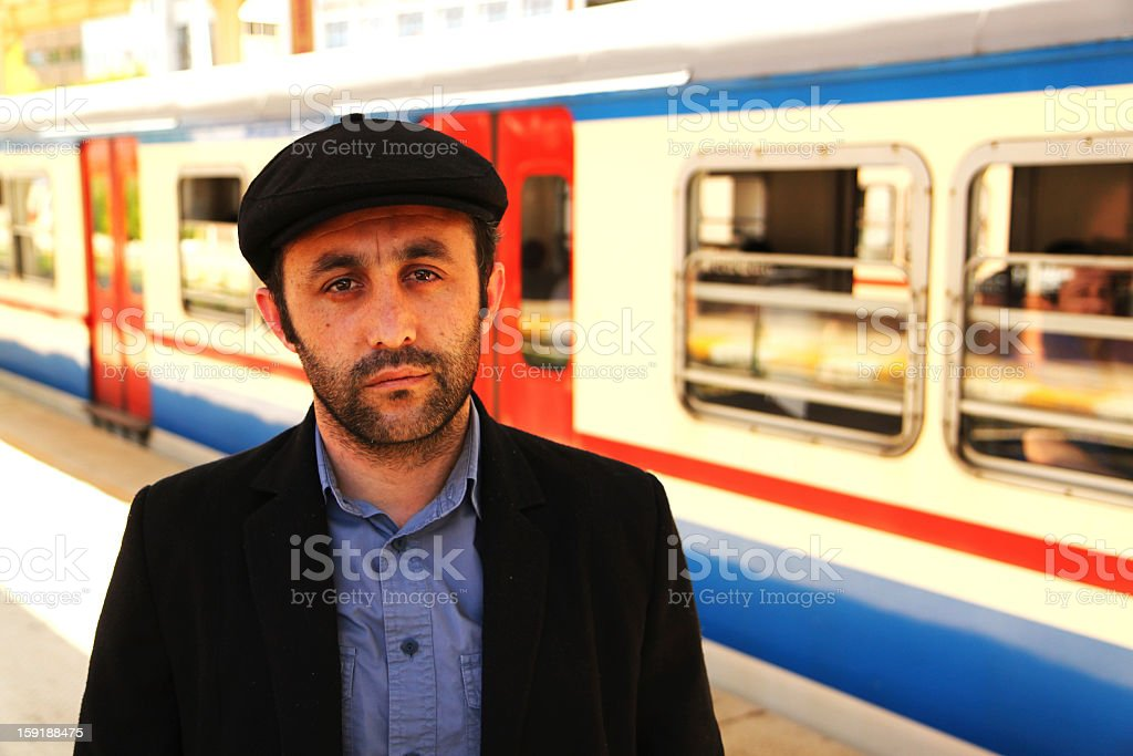 portrait of middle eastern man royalty-free stock photo