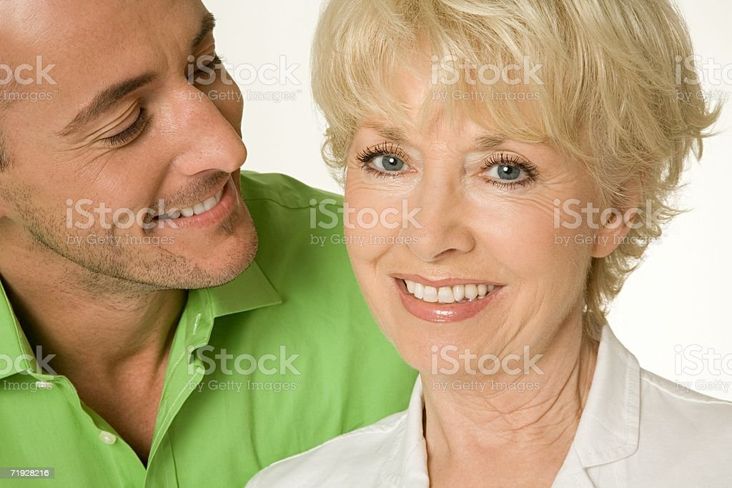 Portrait of mother and son royalty-free stock photo
