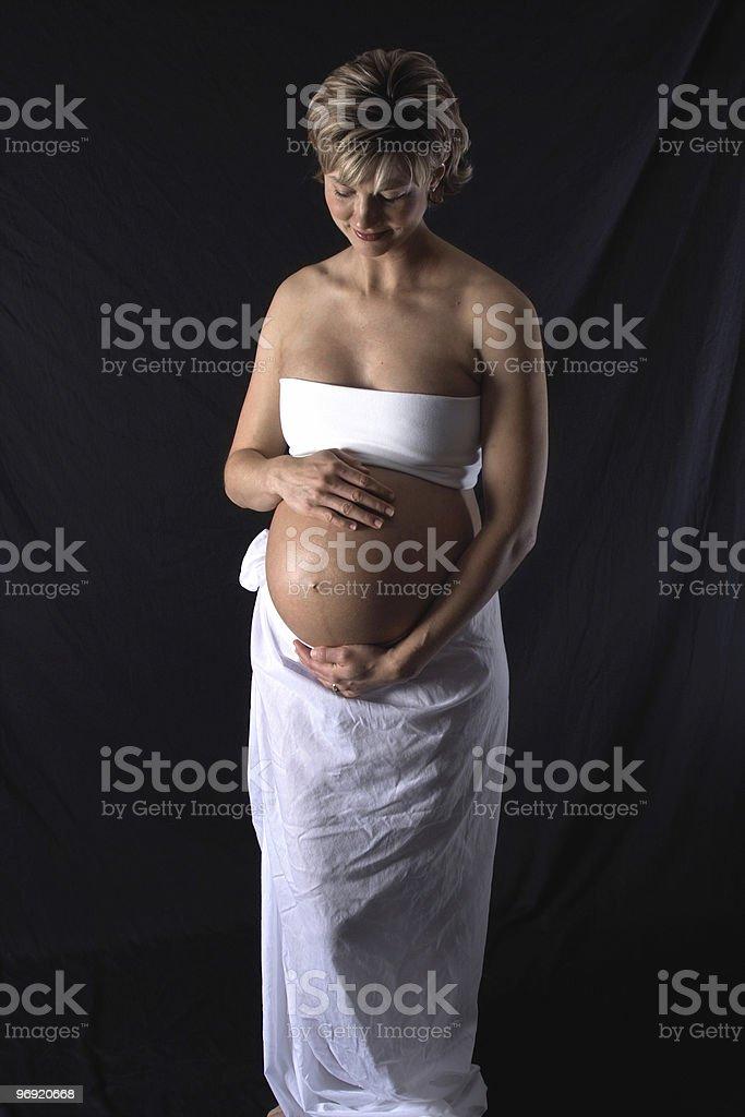 Portrait of Motherhood III royalty-free stock photo