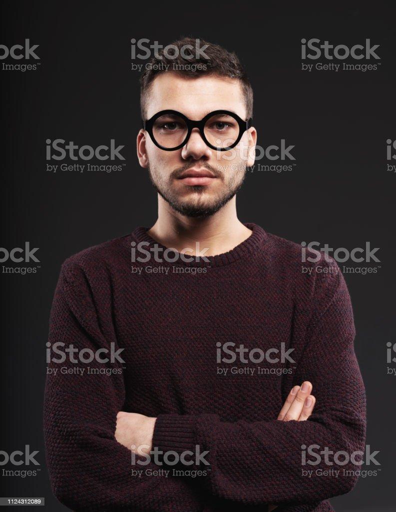 Portrait of mug shot