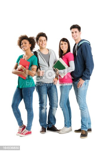 istock Portrait Of Multi Ethnic Students 164536830