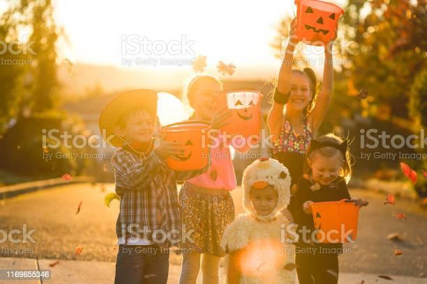 Portrait of multiethnic group of kids trick or treating picture id1169655346?b=1&k=6&m=1169655346&s=612x612&h=n2y l4ysy6ek2lpqyz4of6qnfwv867bnj3tfnz 8qea=
