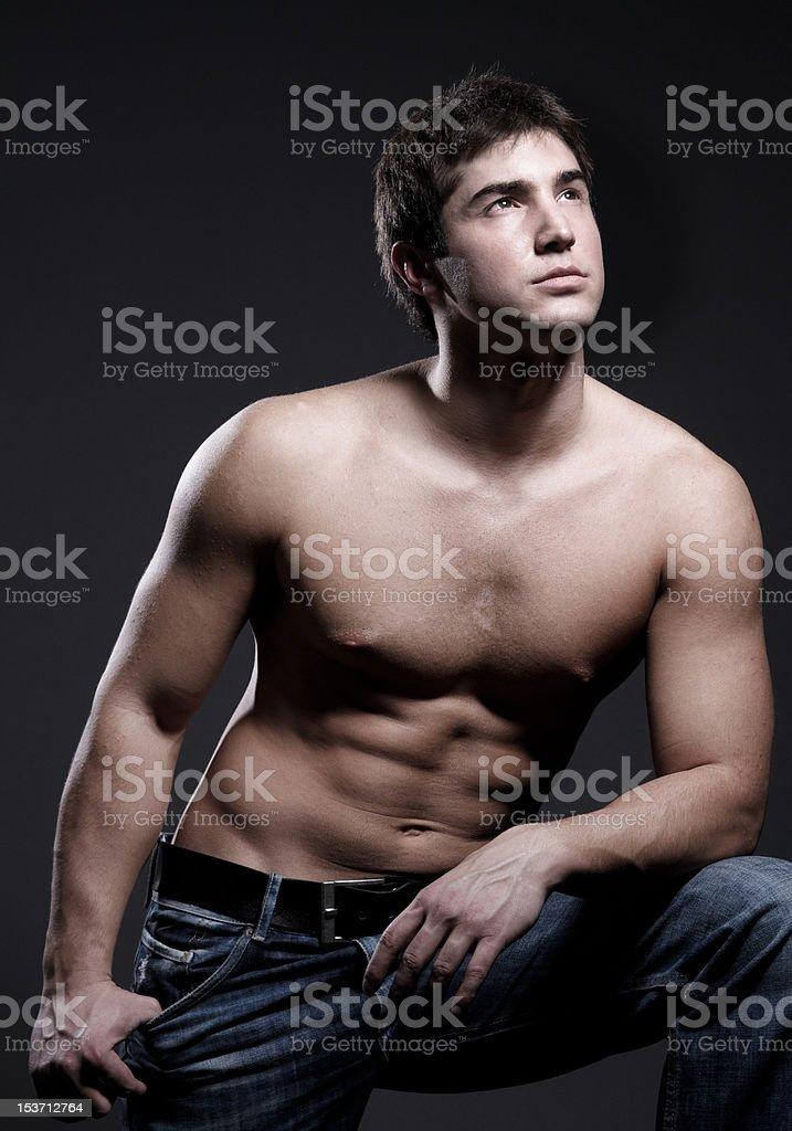 Porträt von muskuläre junger Mann – Foto