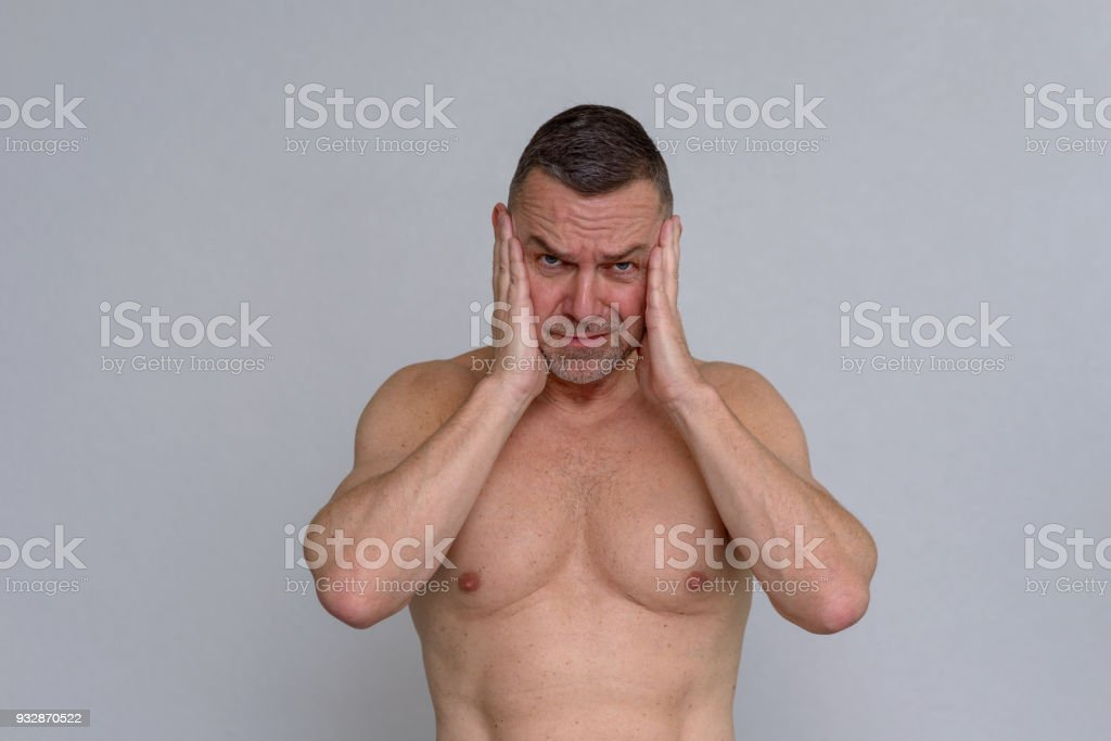 Naked mature male photographs