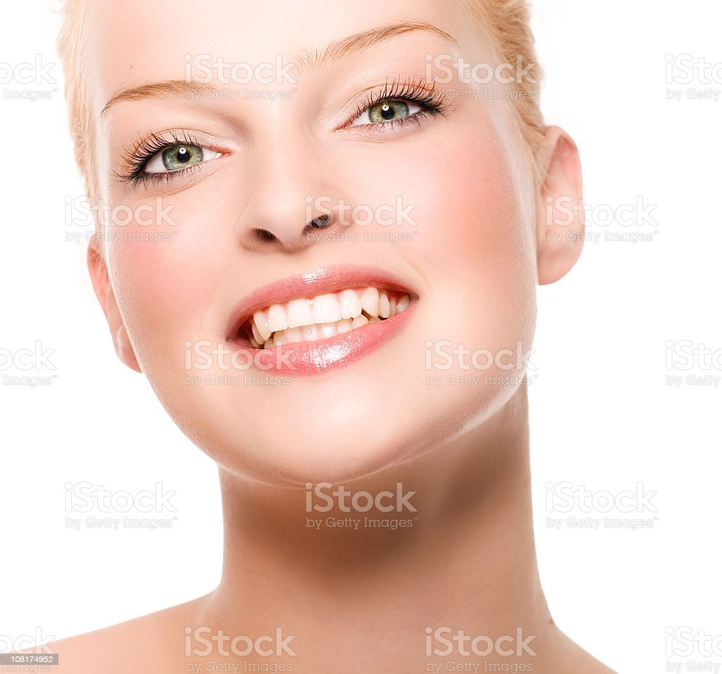 Portrait of Natural Young Woman royalty-free stock photo