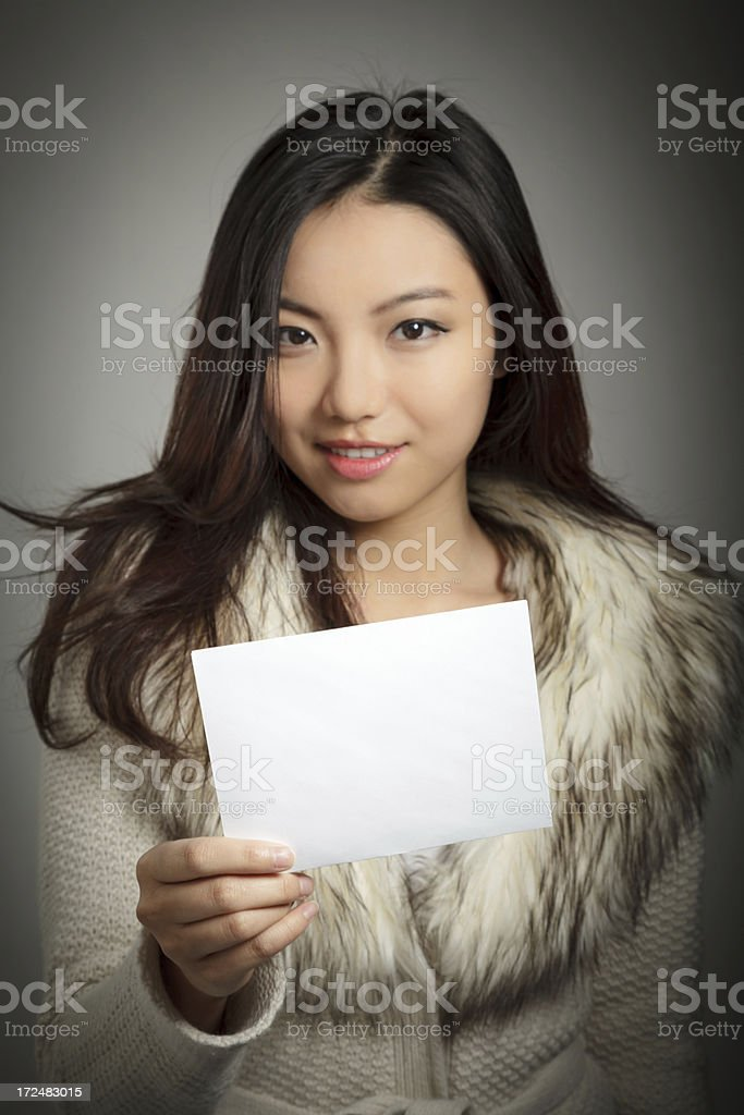 Portrait of Pretty asian woman royalty-free stock photo