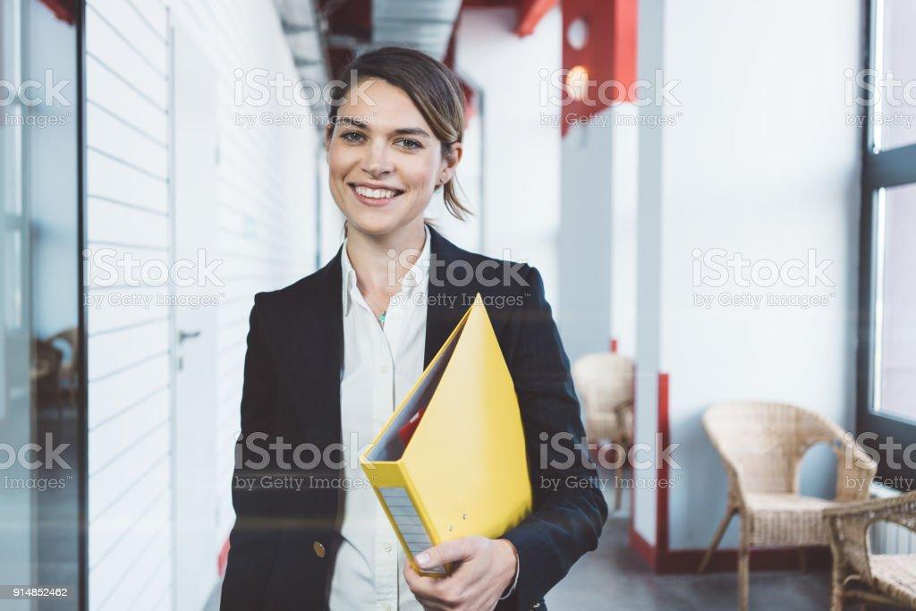 Porträt des schönen business-Frau – Foto