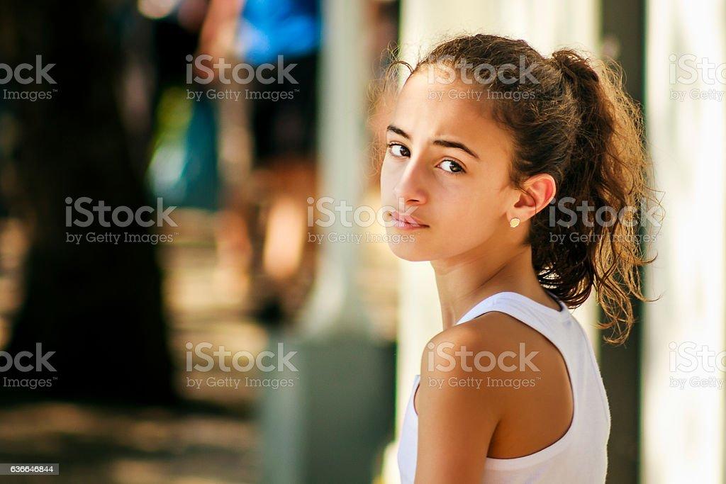Portrait of Pretty Girl foto