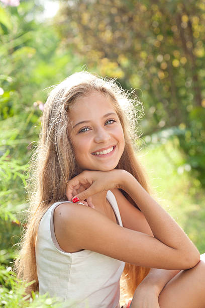 Royalty Free Teenage Girls 14 15 Years Adolescence