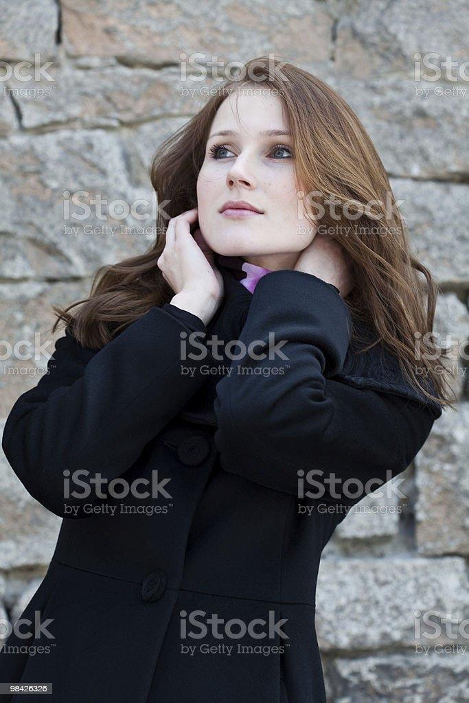 뽀샤시 여성 인물 사진 royalty-free 스톡 사진