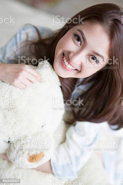 Portrait of pretty young woman with teddy bear picture id530009307?b=1&k=6&m=530009307&s=612x612&h=mwgqzr9stt2go9j04cjzp0v2uce30frgwab3baw1eha=