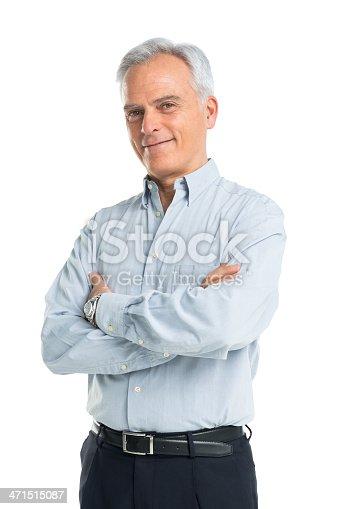 istock Portrait Of Senior Man 471515087