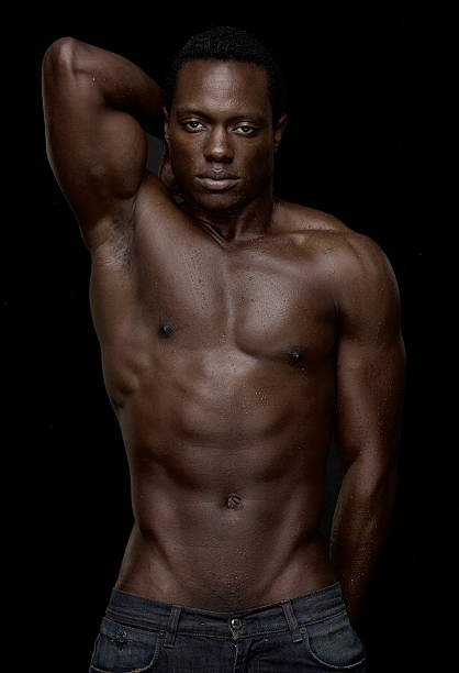from Mathew hot nude black male models