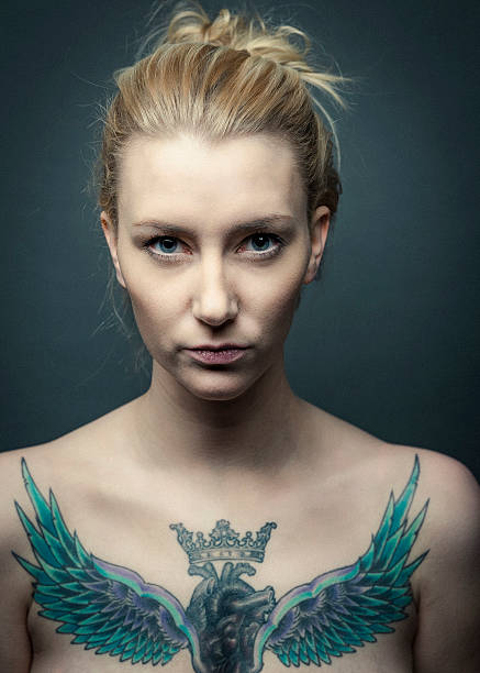 Tattoo Stock Photos: Royalty Free Naked Tattoo Women Pictures, Images And Stock