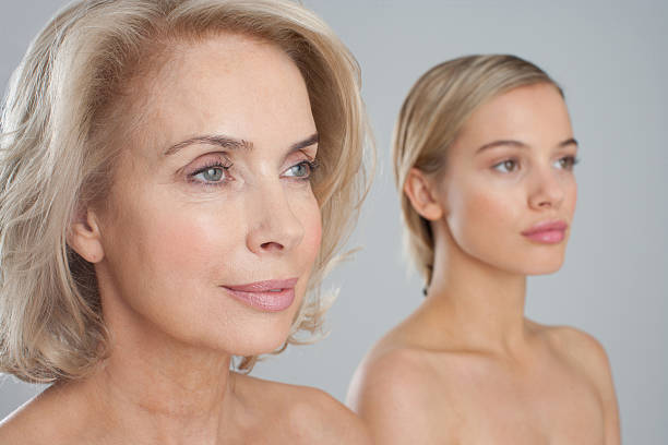 Best Mother Daughter Topless Stock Photos, Pictures