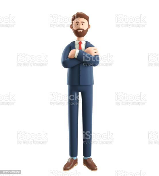 Portrait of smiling bearded businessman 3d illustration of cartoon picture id1222755058?b=1&k=6&m=1222755058&s=612x612&h=rtp9jiqlvswt3kbz94lewpr4o8963g5wprslxbnoezo=