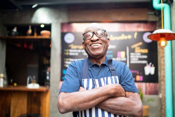 Portrait of smiling elderly waiter looking at camera picture id1164605871?b=1&k=6&m=1164605871&s=612x612&w=0&h=a0ola1lr0bop2nlazgdfx7dsxnt tn7tn xyowsrf4s=