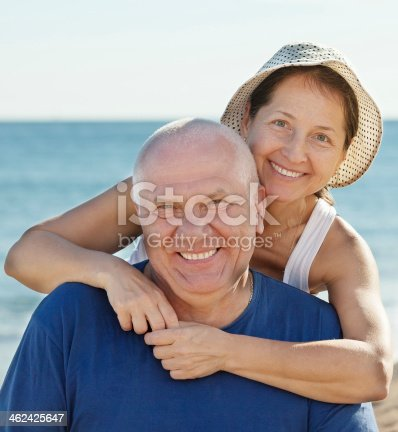 452783143 istock photo Portrait of smiling mature couple 462425647