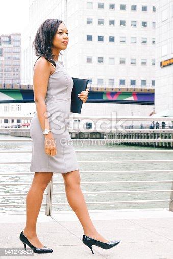 istock Portrait Of Successful Businesswoman In Urban Landscape 541273820