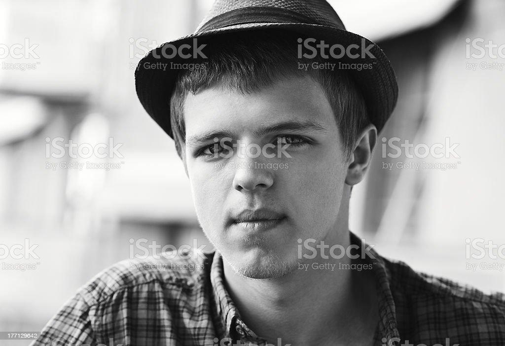Porträt von Teenager Lizenzfreies stock-foto