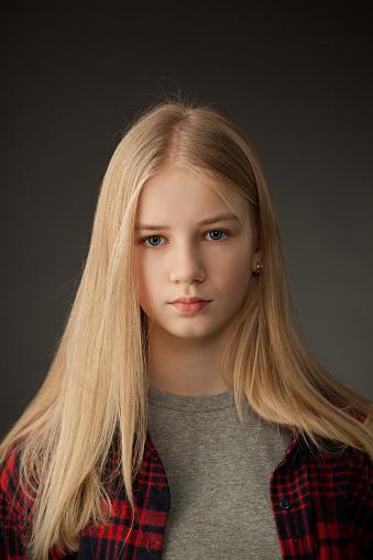 Blonde Teen Girl