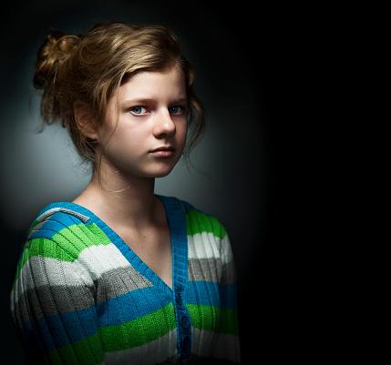 117149457 istock photo Portrait of Teenage Girl 117149457