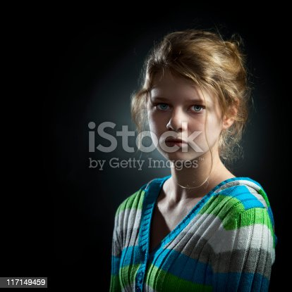 istock Portrait of Teenage Girl 117149459