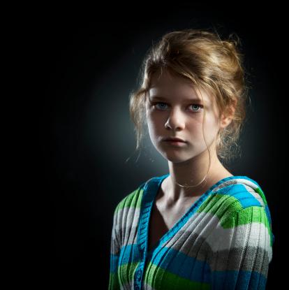 117149457 istock photo Portrait of Teenage Girl 117149459