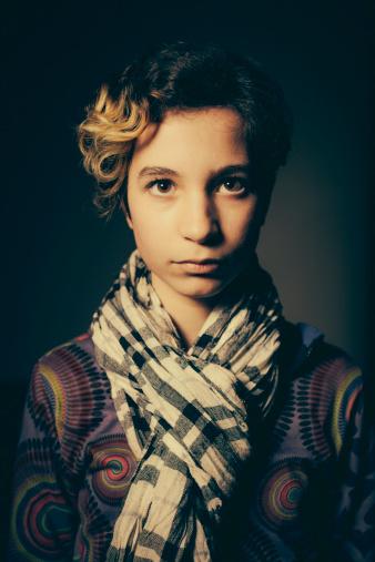 117149457 istock photo Portrait of Teenage Girl 180716342
