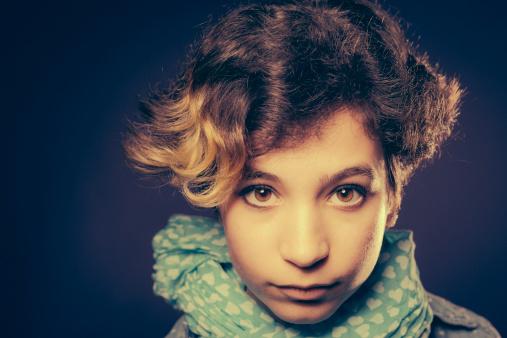 117149457 istock photo Portrait of Teenage Girl 180719581