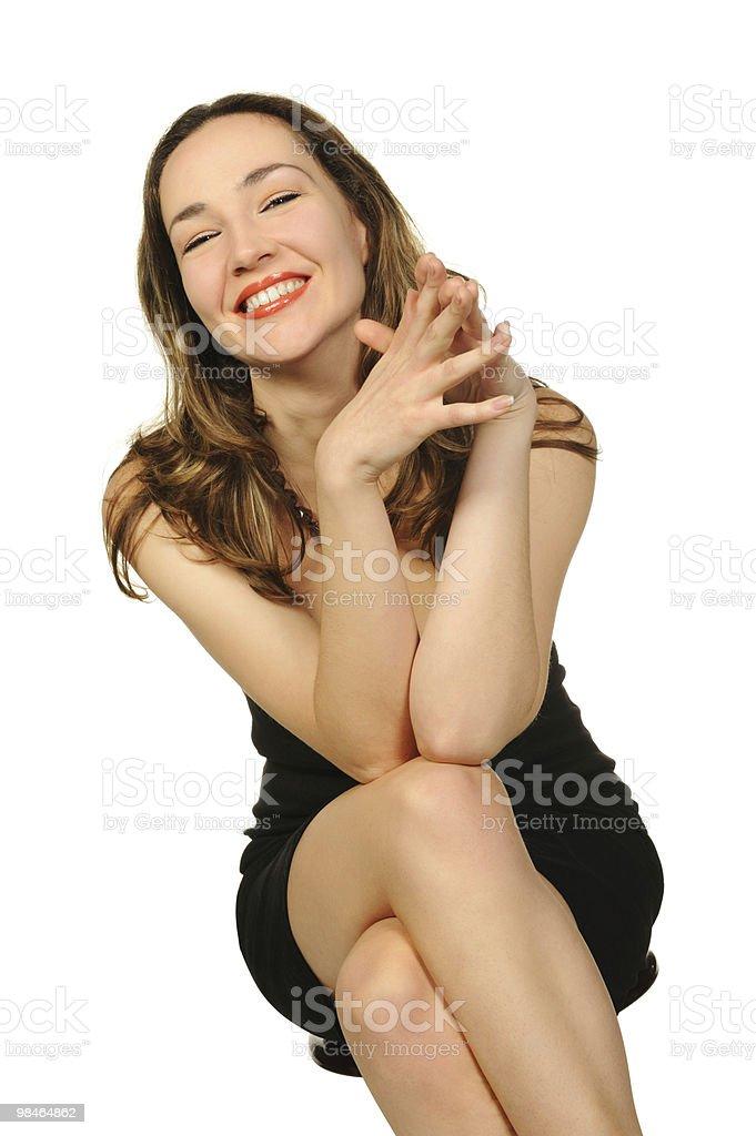 세로는 아름다운 여자 클로즈업 royalty-free 스톡 사진