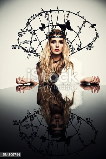 istock Portrait of the woman 534309744