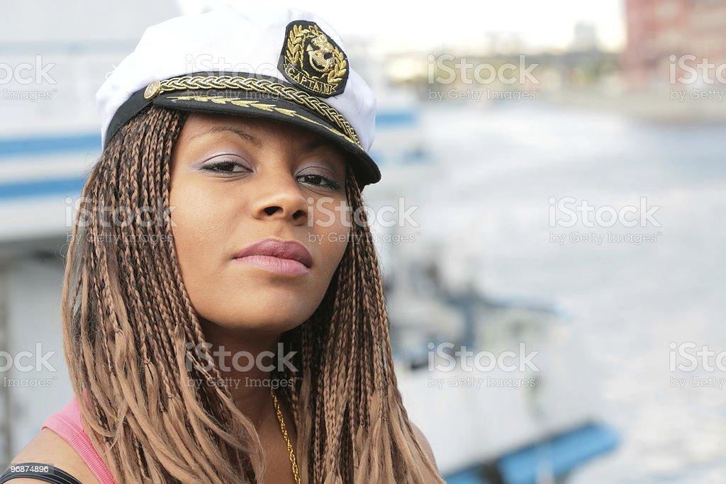 Porträt der jungen Frau Lizenzfreies stock-foto