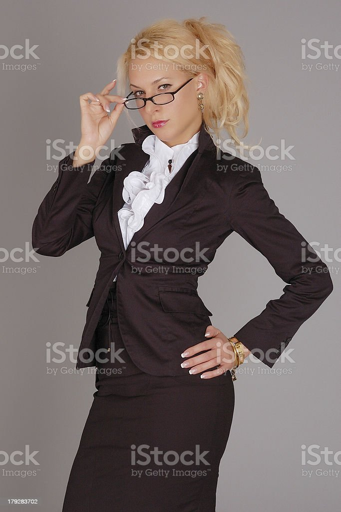 Portrait of the young women royalty-free stock photo