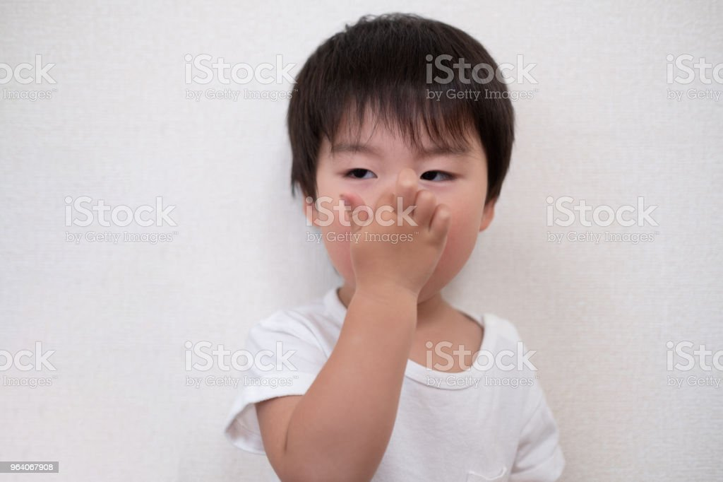 portrait of toddler - Royalty-free 0-11 Months Stock Photo