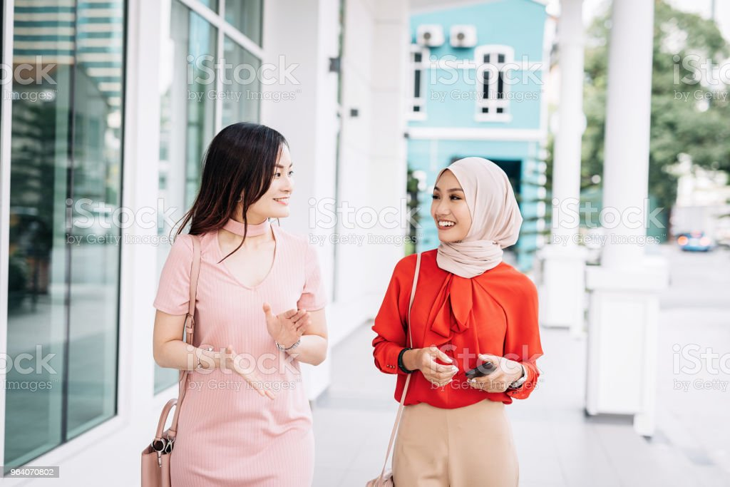 Portrait of two beautiful Asian women - Royalty-free 20-29 Years Stock Photo