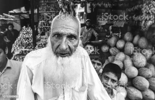 portrait of unknown poor working boy
