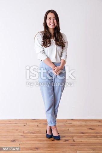 istock Portrait of woman 838173786