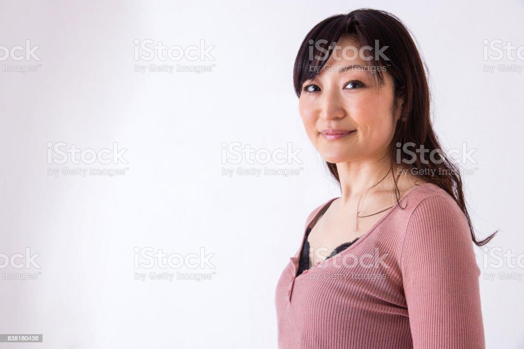 女性のポートレイト ストックフォト