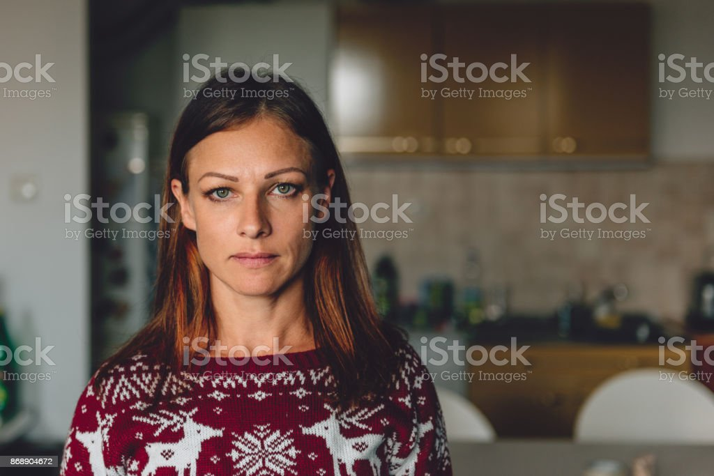 Portrait of woman royalty-free stock photo