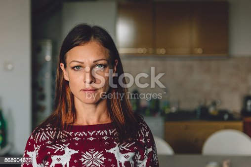 istock Portrait of woman 868904672