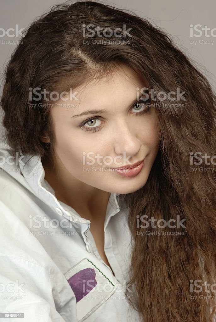 portrait of woman royalty free stockfoto